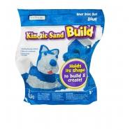 Кинетический песок Kinetic Sand из серии 'Build' (вес - 454 гр.) - голубой Бишкек и Ош купить в магазине игрушек LEMUR.KG доставка по всему Кыргызстану