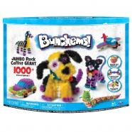 Конструктор-липучка Bunchems - Jumbo Pack, 1000 деталей Бишкек и Ош купить в магазине игрушек LEMUR.KG доставка по всему Кыргызстану