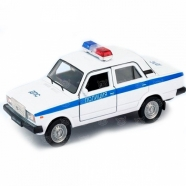 Welly модель машины 1:34-39 Lada 2107 полиция Бишкек и Ош купить в магазине игрушек LEMUR.KG доставка по всему Кыргызстану
