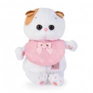 Мягкая игрушка Кошечка Ли-Ли Baby в розовом слюнявчике Бишкек и Ош купить в магазине игрушек LEMUR.KG доставка по всему Кыргызстану