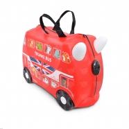 Детский чемодан на колесах 'Автобус' Trunki Бишкек и Ош купить в магазине игрушек LEMUR.KG доставка по всему Кыргызстану