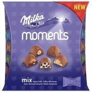 Конфеты Milka Moments Mix, 97 гр Бишкек и Ош купить в магазине игрушек LEMUR.KG доставка по всему Кыргызстану