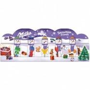 Новогодний набор Milka Snowman friends, 75 гр Бишкек и Ош купить в магазине игрушек LEMUR.KG доставка по всему Кыргызстану