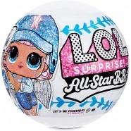 Кукла L.O.L. Surprise! Блестящая из бейсбольной команды Бишкек и Ош купить в магазине игрушек LEMUR.KG доставка по всему Кыргызстану