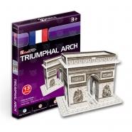 3D пазл Триумфальная арка (Франция) (мини серия) Бишкек и Ош купить в магазине игрушек LEMUR.KG доставка по всему Кыргызстану
