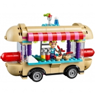 LEGO: Парк развлечений: Фургон с хот-догами Бишкек и Ош купить в магазине игрушек LEMUR.KG доставка по всему Кыргызстану
