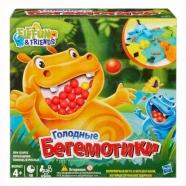 Увлекательная игра 'Голодные бегемотики' Бишкек и Ош купить в магазине игрушек LEMUR.KG доставка по всему Кыргызстану