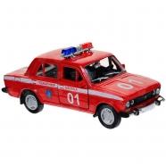 Welly модель машины 1:34-39 Lada 2107 пожарная охрана Бишкек и Ош купить в магазине игрушек LEMUR.KG доставка по всему Кыргызстану