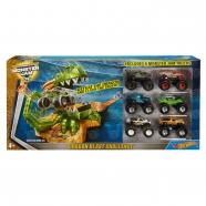Набор Hot Wheels Дракон и 6 машинок 'Monster Jam' Бишкек и Ош купить в магазине игрушек LEMUR.KG доставка по всему Кыргызстану