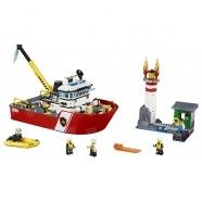 LEGO: Пожарный катер Бишкек и Ош купить в магазине игрушек LEMUR.KG доставка по всему Кыргызстану