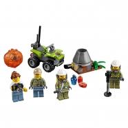 LEGO: Набор для начинающих: Исследователи вулканов Бишкек и Ош купить в магазине игрушек LEMUR.KG доставка по всему Кыргызстану