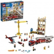 LEGO: Пожарные: Центральная пожарная станция Бишкек и Ош купить в магазине игрушек LEMUR.KG доставка по всему Кыргызстану
