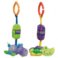NUBY Игрушка-звоночек подвесная 'Крокодил','Бегемот' Бишкек и Ош купить в магазине игрушек LEMUR.KG доставка по всему Кыргызстану