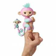 Fingerlings Интерактивная Обезьянка Эшли и ребенок Бишкек и Ош купить в магазине игрушек LEMUR.KG доставка по всему Кыргызстану