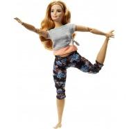 Кукла Барби 'Безграничные движения' Золотисто-каштановый Бишкек и Ош купить в магазине игрушек LEMUR.KG доставка по всему Кыргызстану