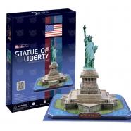 3D пазл Статуя Свободы (США) Бишкек и Ош купить в магазине игрушек LEMUR.KG доставка по всему Кыргызстану