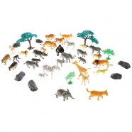 Игровой набор Boley Сафари (40 предметов) Бишкек и Ош купить в магазине игрушек LEMUR.KG доставка по всему Кыргызстану