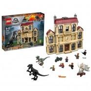 LEGO: Нападение индораптора в поместье Бишкек и Ош купить в магазине игрушек LEMUR.KG доставка по всему Кыргызстану
