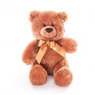 Мягкая игрушка Aurora Медведь темно-коричневый 26 см Бишкек и Ош купить в магазине игрушек LEMUR.KG доставка по всему Кыргызстану