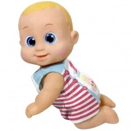 Bouncin' Babies Кукла Баниэль 16 см ползущая Бишкек и Ош купить в магазине игрушек LEMUR.KG доставка по всему Кыргызстану