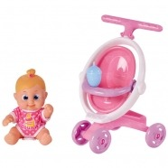 Bouncin' Babies Кукла Бони 16 см с коляской Бишкек и Ош купить в магазине игрушек LEMUR.KG доставка по всему Кыргызстану