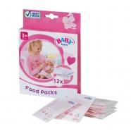 Baby Born Детское питание 12 пакетиков Бишкек и Ош купить в магазине игрушек LEMUR.KG доставка по всему Кыргызстану