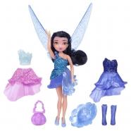 Кукла Дисней Фея с волосами и доп платьем 11 см Бишкек и Ош купить в магазине игрушек LEMUR.KG доставка по всему Кыргызстану