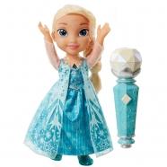 Кукла Эльза Холодное Сердце, поющая с микрофоном Бишкек и Ош купить в магазине игрушек LEMUR.KG доставка по всему Кыргызстану