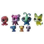 Набор игрушек Littlest Pet Shop 7 космических петов Бишкек и Ош купить в магазине игрушек LEMUR.KG доставка по всему Кыргызстану