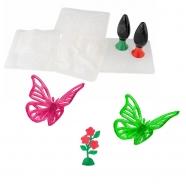 Тематический набор 3D Magic 'Бабочка и цветок' Бишкек и Ош купить в магазине игрушек LEMUR.KG доставка по всему Кыргызстану
