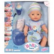 Игрушка BABY born Кукла-мальчик Интерактивная, 43 см, кор. Бишкек и Ош купить в магазине игрушек LEMUR.KG доставка по всему Кыргызстану