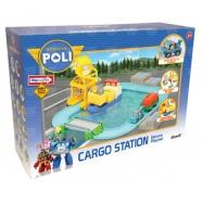 Игровой набор 'Робокар Поли' Порт с разводным мостом Бишкек и Ош купить в магазине игрушек LEMUR.KG доставка по всему Кыргызстану