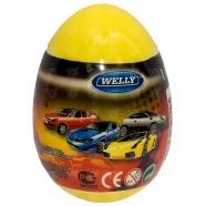 Welly модель машины 1:60 яйцо-сюрприз (в ассорт.) Бишкек и Ош купить в магазине игрушек LEMUR.KG доставка по всему Кыргызстану