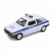 Welly модель машины 1:34-39 Lada 2108 Милиция ДПС Бишкек и Ош купить в магазине игрушек LEMUR.KG доставка по всему Кыргызстану