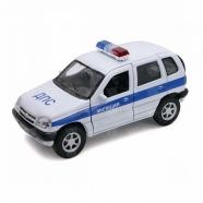 Welly модель машины 1:34-39 Chevrolet Niva милиция ДПС Бишкек и Ош купить в магазине игрушек LEMUR.KG доставка по всему Кыргызстану