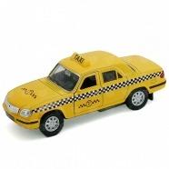 Welly модель машины Волга Такси Бишкек и Ош купить в магазине игрушек LEMUR.KG доставка по всему Кыргызстану