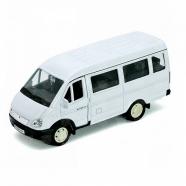 Welly модель машины ГАЗель пассажирская Бишкек и Ош купить в магазине игрушек LEMUR.KG доставка по всему Кыргызстану