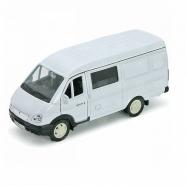 Welly модель машины ГАЗель фургон с окном Бишкек и Ош купить в магазине игрушек LEMUR.KG доставка по всему Кыргызстану
