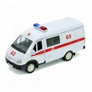 Welly модель машины ГАЗель скорая помощь Бишкек и Ош купить в магазине игрушек LEMUR.KG доставка по всему Кыргызстану
