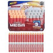 Бластер Nerf Мега стрелы 30 штук: комбо Бишкек и Ош купить в магазине игрушек LEMUR.KG доставка по всему Кыргызстану
