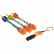 Ракеты свистящие Zing, 3 шт. с пусковым устройством Бишкек и Ош купить в магазине игрушек LEMUR.KG доставка по всему Кыргызстану