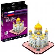 3D пазл Храм Христа Спасителя (Россия) Бишкек и Ош купить в магазине игрушек LEMUR.KG доставка по всему Кыргызстану