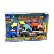 Подарочный набор Boley Автовоз 'Смелый гонщик' Бишкек и Ош купить в магазине игрушек LEMUR.KG доставка по всему Кыргызстану