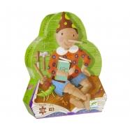 Djeco Пазл для малышей Пиноккио Бишкек и Ош купить в магазине игрушек LEMUR.KG доставка по всему Кыргызстану