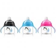 Avent Волшебная чашка-непроливайка от 12мес, 3 цвета - розовый, голубой, черный Бишкек и Ош купить в магазине игрушек LEMUR.KG доставка по всему Кыргызстану