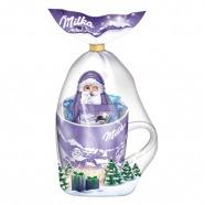 Новогодний набор Milka с кружкой, 95 гр Бишкек и Ош купить в магазине игрушек LEMUR.KG доставка по всему Кыргызстану