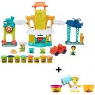 Набор Play-Doh 'Город главная улица' + фигурки Бишкек и Ош купить в магазине игрушек LEMUR.KG доставка по всему Кыргызстану