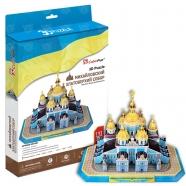 3D пазл Михайловский златоверхий собор (Украина) Бишкек и Ош купить в магазине игрушек LEMUR.KG доставка по всему Кыргызстану