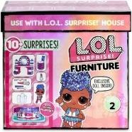 Набор мебели L.O.L. Surprise! Набор мебели с куклой Queen Бишкек и Ош купить в магазине игрушек LEMUR.KG доставка по всему Кыргызстану