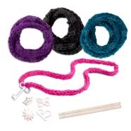 Knits Cool Набор для вязания браслетов и ободка Бишкек и Ош купить в магазине игрушек LEMUR.KG доставка по всему Кыргызстану
